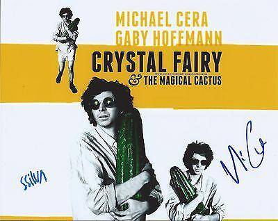 Michael Cera   Sebastian Silva Signed Crystal Fairy 8X10 Photo    Photo Proof