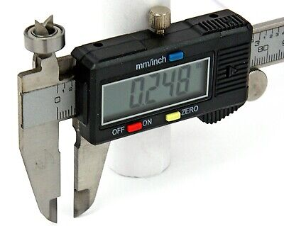 12 Digital Electronic Vernier Caliper Measuring Tool With Lcd Display