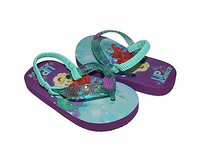Toddler Girls Disney Ariel Flip Flop Sandals Purple Size 7-8 (Toddler Ariel)