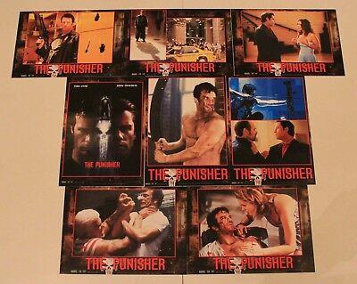 Punisher 2004version original German set of 8 Tom Jane John Travolta