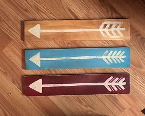 Set of 3 Arrow Signs
