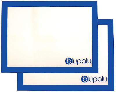 2x Silikon Backmatte Teigunterlage Backunterlage antihaft Backpapier 30 x 40cm