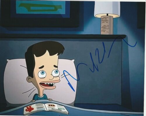 * NICK KROLL * signed autographed 8x10 photo * BIG MOUTH * 1