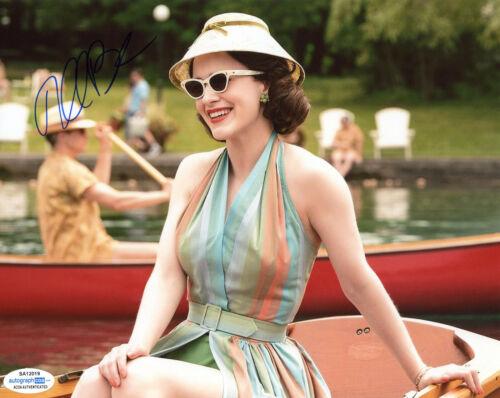 "Rachel Brosnahan ""The Marvelous Mrs. Maisel"" AUTOGRAPH Signed 8x10 Photo F ACOA"