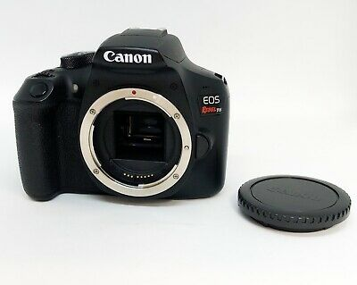 Canon EOS Rebel T6 18.0 MP Digital Camera ( Body Only ) Low Shutter Count 6503