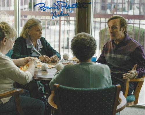 BONNIE BARTLETT SIGNED 'BETTER CALL SAUL' 8x10 PHOTO w/COA SHOW ACTRESS PROOF