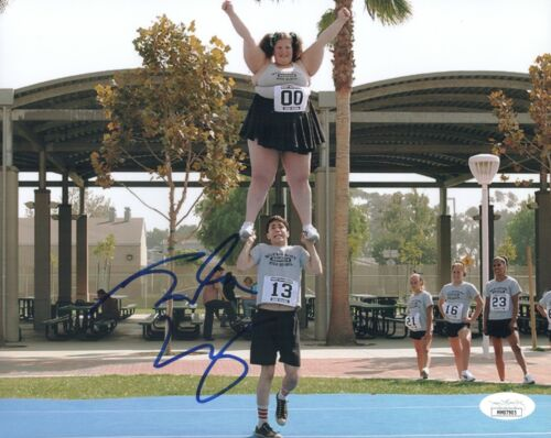 JUSTIN LONG Signed DODGEBALL 8x10 Photo Autograph JSA COA