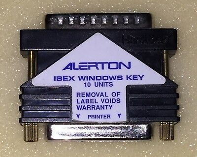 Alerton Ibex Software Key Dongle For Windows 10 Unit For Hardware Parallel Port