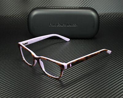 RALPH LAUREN POLO PREP PP8532 5708 Tort Lillac Demo Lens 47mm Women's Eyeglasses