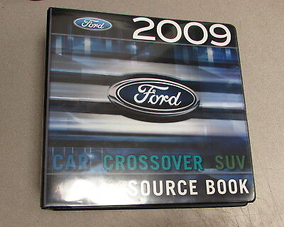 2009 Ford Car Crossover Suv Truck Source Book Product Facts Manual