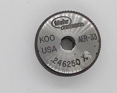Mahr Federal Aer-33 .246250 Xx K00usa Master Setting Ring