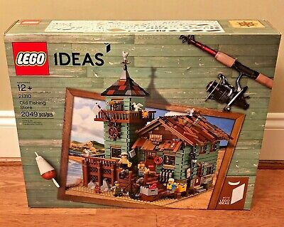 LEGO Ideas Old Fishing Store 21310, Brand New Retired - Authentic!