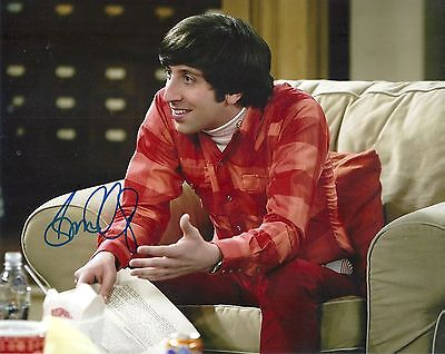 Simon Helberg Big Bang Theory Howard Wolowitz Signed 8X10 Picture  Coa