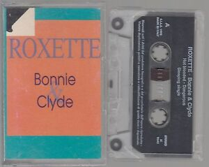 ROXETTE-cassette-tape-BONNIE-amp-CLYDE-1992-Italy