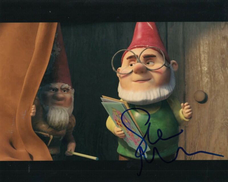 STEPHEN MERCHANT signed (SHERLOCK GNOMES) Movie 8X10 photo *Paris* W/COA #1