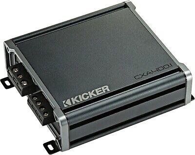 KICKER 46CXA400.1T कार ऑडियो मोनो 1CH क्लास-डी CX श्रृंखला एएमपीलिफ़ायर AMP CXA400.1T