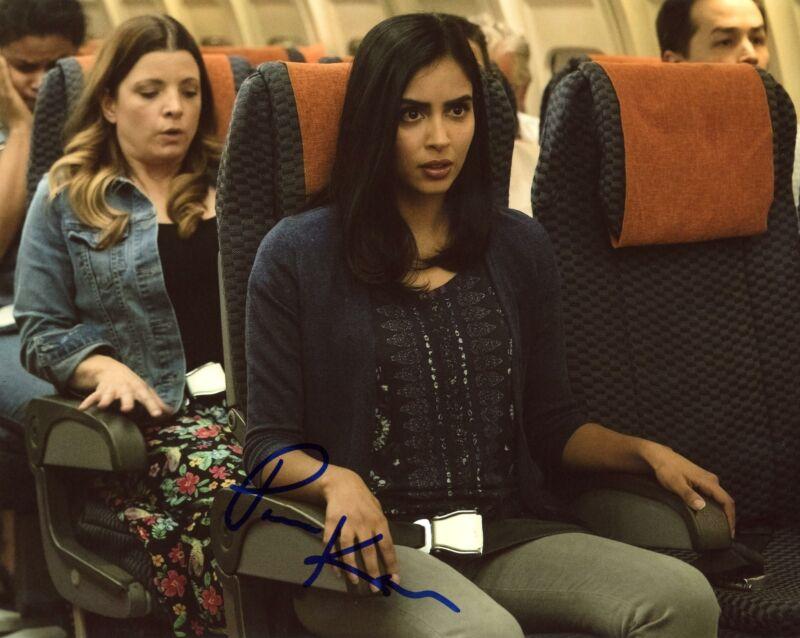 """Parveen Kaur """"Manifest"""" AUTOGRAPH Signed 8x10 Photo"""