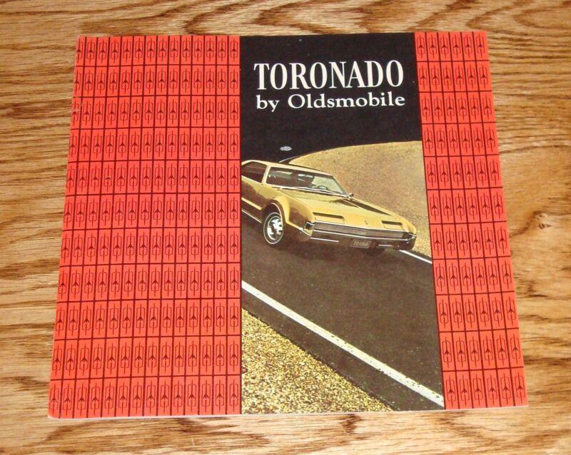 Original 1966 Oldsmobile Toronado Sales Brochure 66