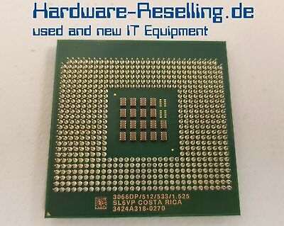 Intel Single (Intel Xeon 3066DP Single Core CPU Socket PPGA604 3066DP/512/533/1.525 - SL6VP)