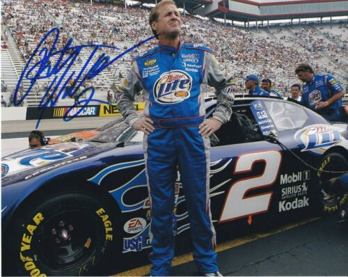 Rusty Wallace NASCAR autographed 8x10 photograph RP