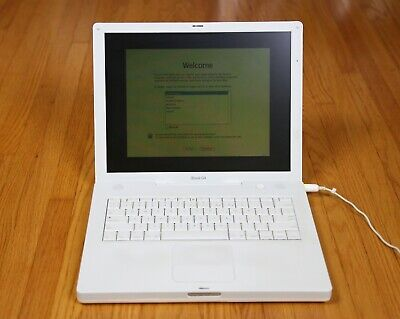 Apple iBook G4 Power PC | 1.42GHz, 1.5 Gb RAM, outstanding condition, clean
