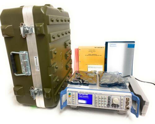 Rohde & Schwarz SMB100M 9 kHz to 2.2 GHz Signal Analyzer CALIBRATION done 3/2020