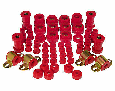 Prothane 1980 1986 Jeep Cj5   Cj7 Total Complete Suspension Bushing Kit  Red