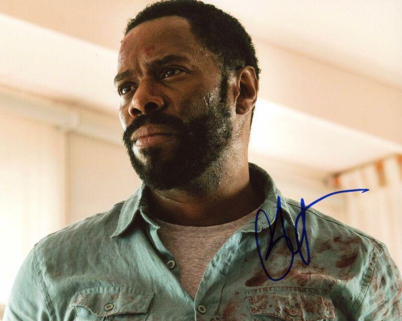 """Colman Domingo """"Fear the Walking Dead"""" AUTOGRAPH Signed 8x10 Photo C"""
