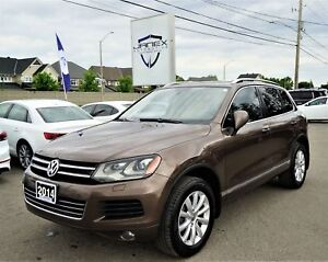 2014 Volkswagen Touareg 3.0 TDI Highline ONE OWNER | LEATHER...