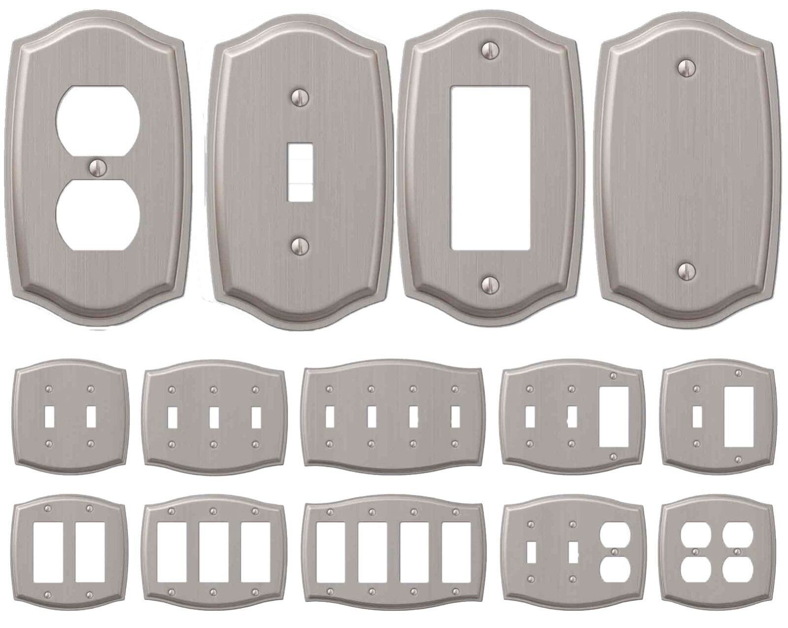Switch Plate Outlet Cover Rocker GFCI Toggle Light Wall Plat