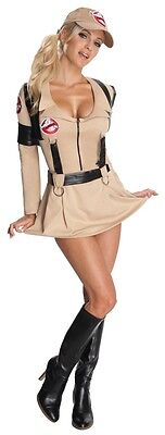 HALLOWEEN FANCY DRESS ~ LADIES SEXY MISS GHOSTBUSTERS COSTUME 1980's MOVIE - Halloween Costumes 1980s Theme