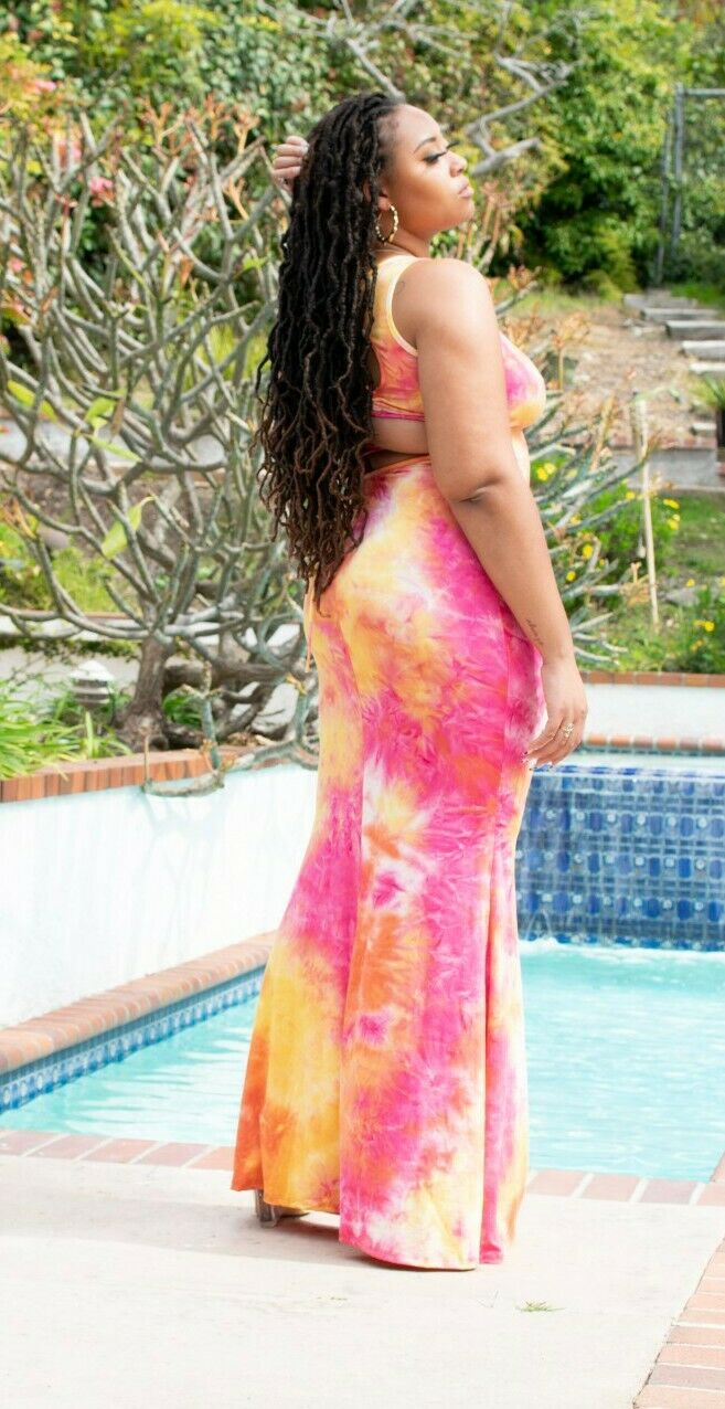 Maxi Dress Tie Dye 1