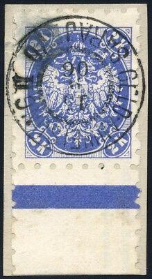Bosnien & Herzegowina Mi. 22V Luxus-Briefstück, Befund Eichele (1206/29)