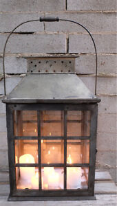 Large Rustic Lanterns for Hire Rosanna Banyule Area Preview