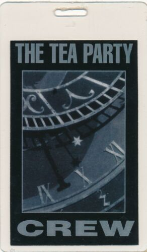 The Tea Party Triptych (TRIPtych) Laminated Promotional Tour Crew Pass-1999