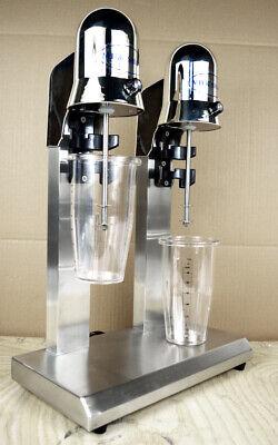 Stainless Steel Milk Shaker Mixer 110v Milk Shake Maker Blender Stand Mix