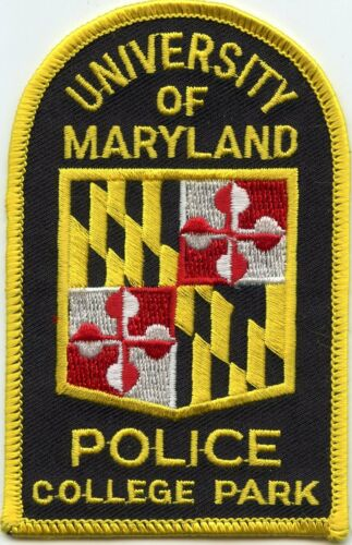 UNIVERSITY OF MARYLAND MD COLLEGE PARK CAMPUS POLICE PATCH