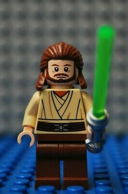 Lego Star Wars Qui-Gon Jinn Mini Figure