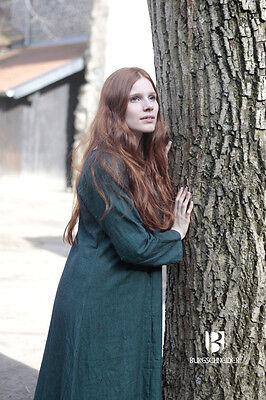Mittelalter Unterkleid Wikinger Kleid Gewand / LARP - Grün von Burgschneider