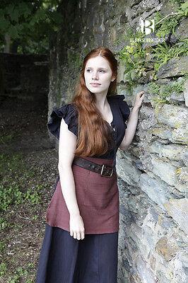 Mittelalter Frauengewand Kleid Bäuerin Agga / LARP - Schwarz von - Schneide Kostüm