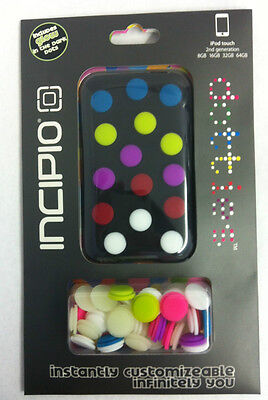 Incipio Dotties Case Pouch Gel Ipod Touch 2 & 3 generation Glow In The Dark Dots Incipio Ipod Touch
