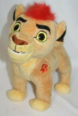 Disney Talking Kion Plush Lion Guard Roars Lights Up King Jumbo Son of Simba