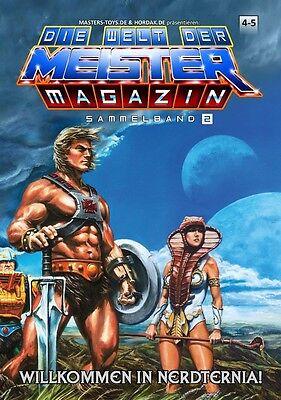 """SAMMELBAND 2 """"DIE WELT DER MEISTER – MAGAZIN"""" (4-5) *NEU Masters of the Universe"""