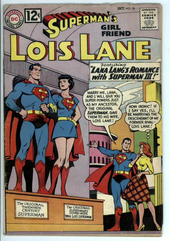 SUPERMANS GIRLFRIEND LOIS LANE #36