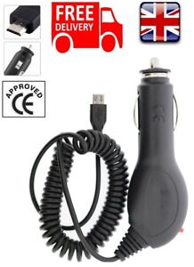 Micro-USB In Car Charger for the Amazon Kindle Fire HD Kobo E-Book Reader