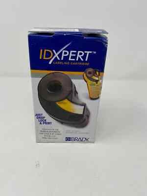Brady Idxpert Label Cartridge Xc-1500-595-cl-bk 1.5 X 25 Black Clear B595