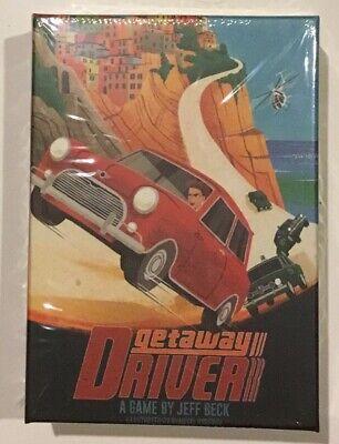 Getaway Driver - Brettspiel für 2 Personen -