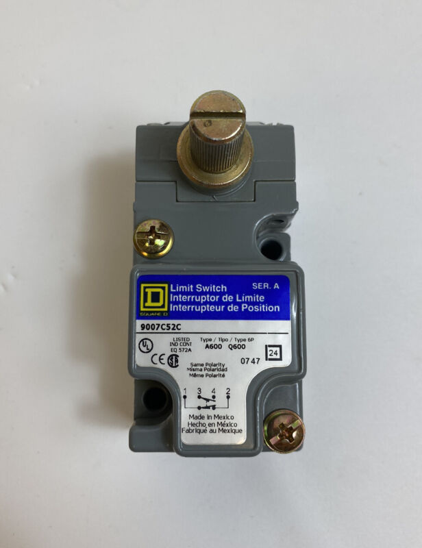 Square D 9007C52C Limit Switch Series A 9007 Operating Head -Free US Shipping-