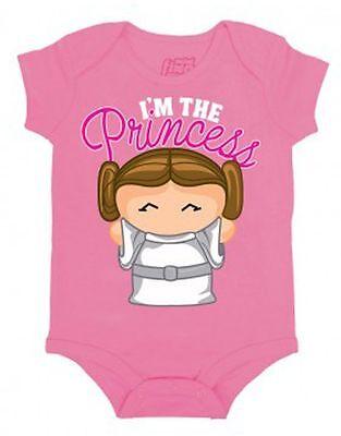 nzessin Baby-Strampler Leia Film Kleinkinder Einteiler Body (Prinzessin Leia Kleinkind)