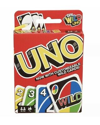 Wild UNO Card Games— Family / Friends playing Card Game US Seller, Free Shipping